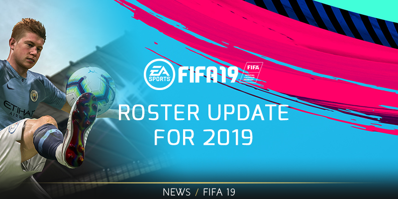 FIFA Roster Update for 2019