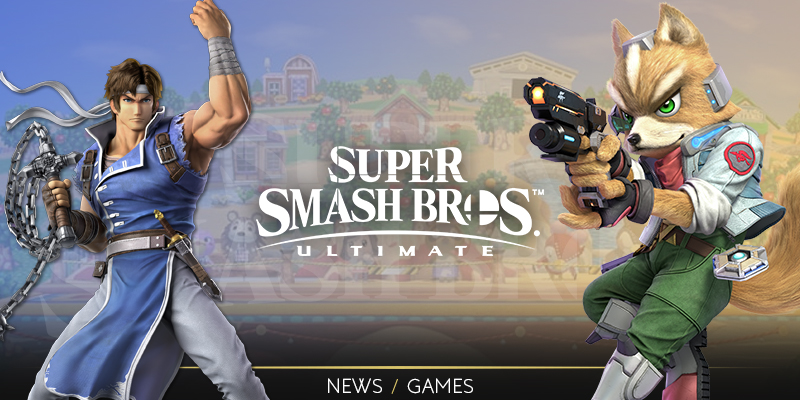 Game release: Super Smash Bros. Ultimate