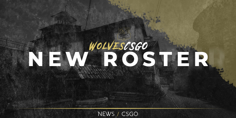 CSGO team with new roster
