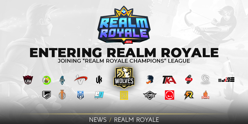 Entering Realm Royale