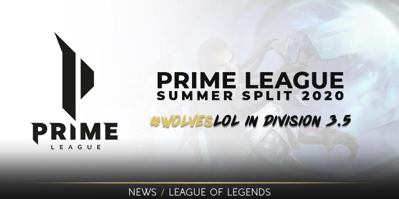 Prime League Summer Split 2020