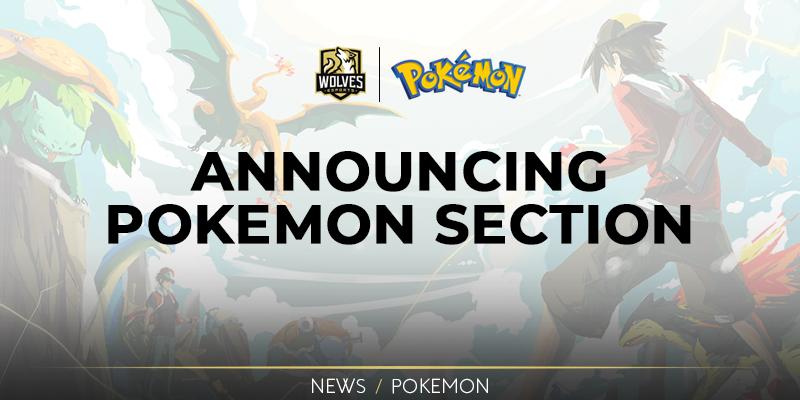 Announcing Pokémon section